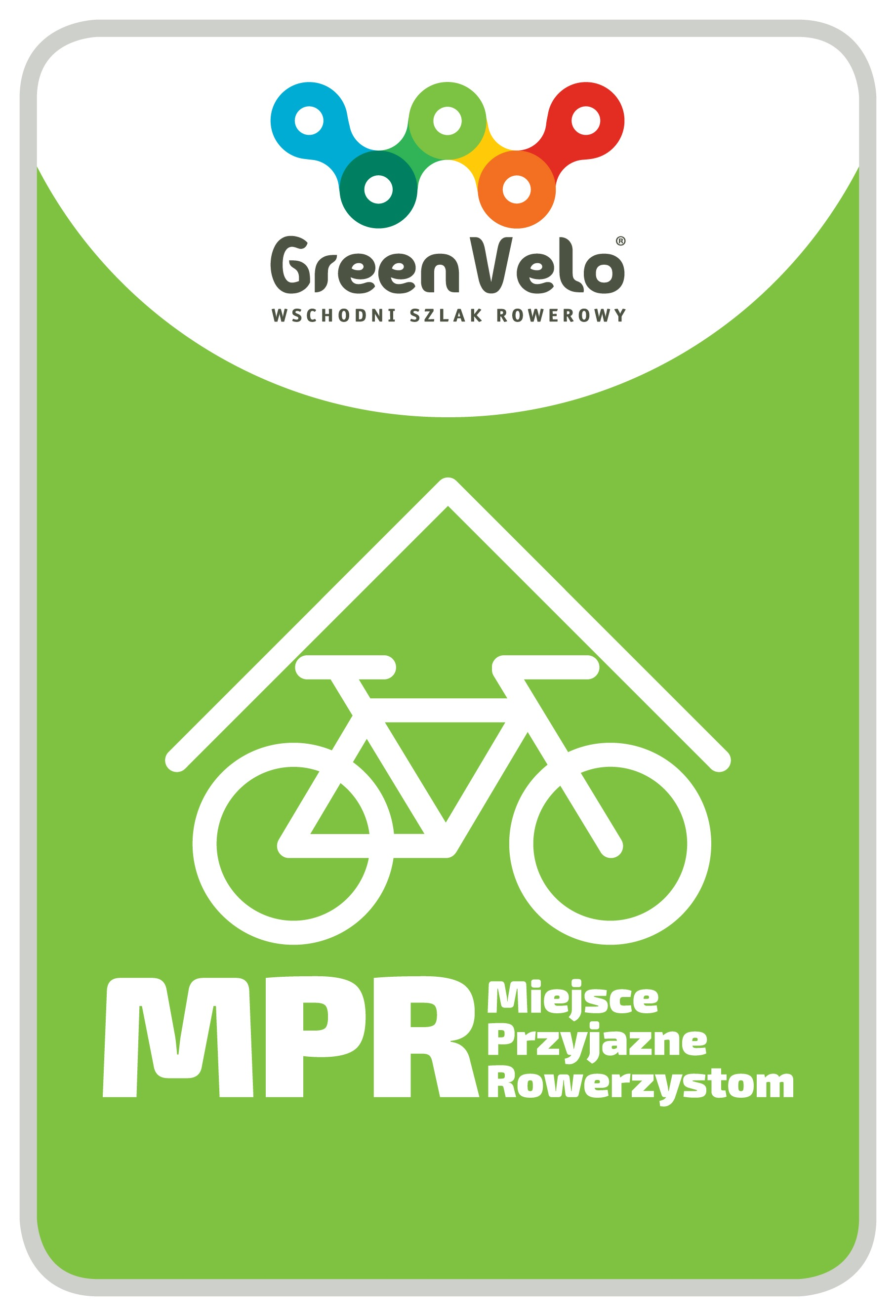 Logo Miejsce Przyjazne Rowerzystom GREEN VELO
