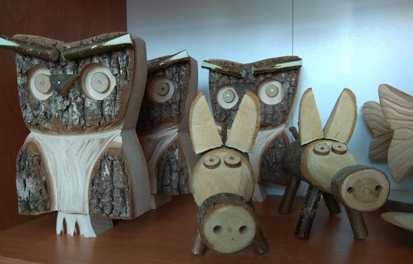 Figurka drewniana Hand Made