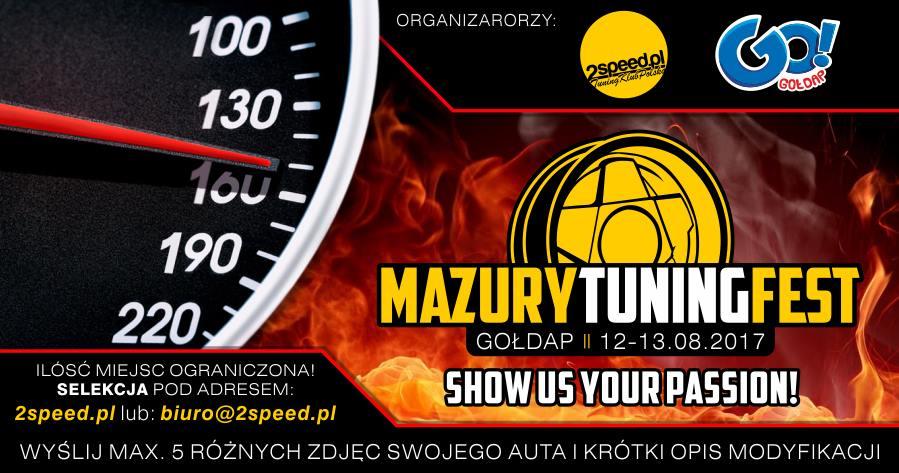 Mazury Tuning Fest - 12 sierpnia.