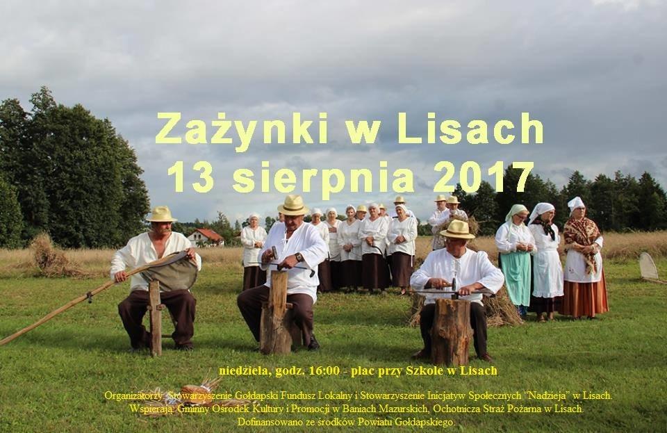 Zażynki w Lisach 2017 - 13 sierpnia
