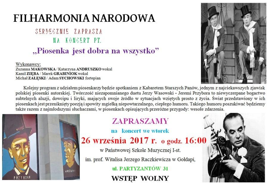 Koncert Filharmonii Narodowej