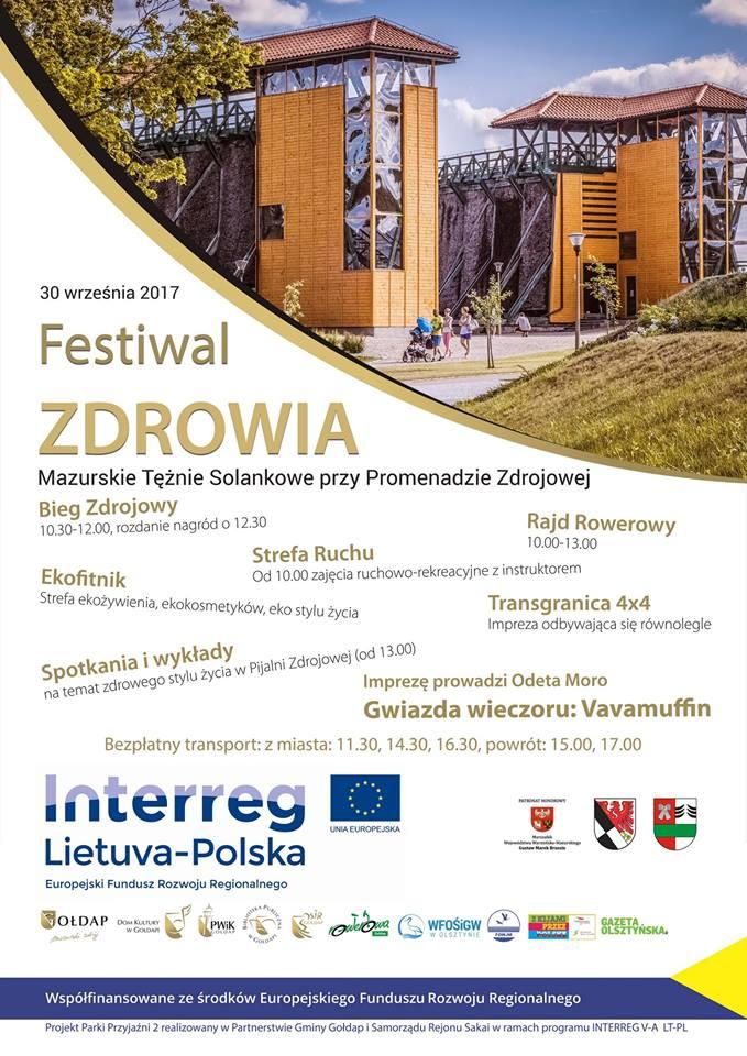Festiwal Zdrowia 30. 09. 2017
