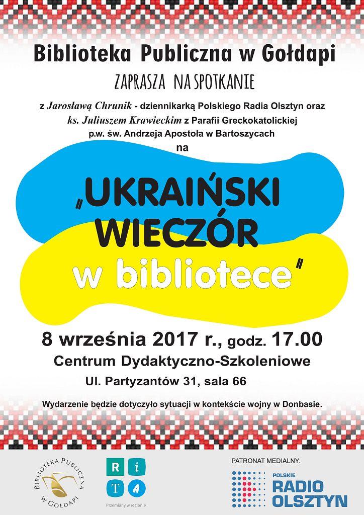 """""""Ukraiński wieczór w Bibliotece"""""""