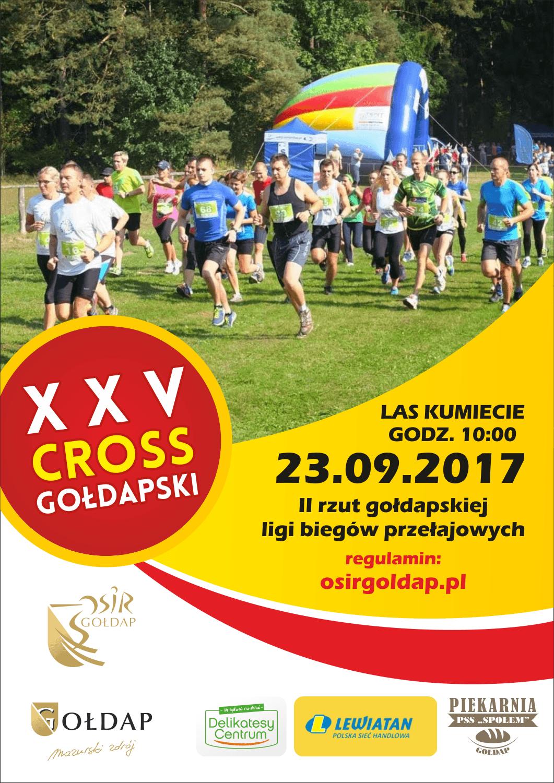 Zapraszamy do wzięcia udziału w XXV Crossie Gołdapskim