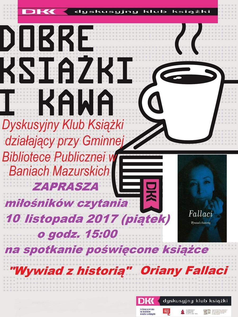 Spotkanie dyskusyjnego klubu książki 10-11-2017