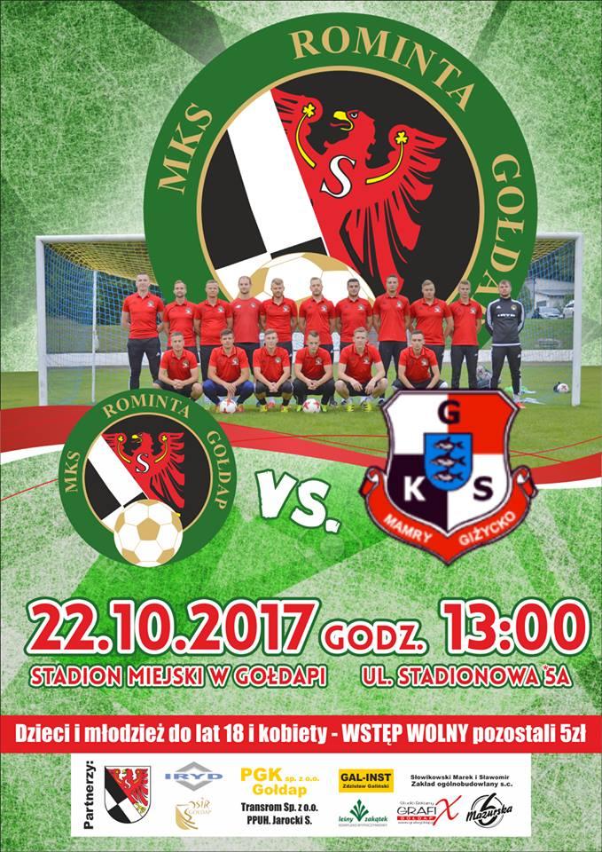 Mecz MKS Rominta 22-10-2017