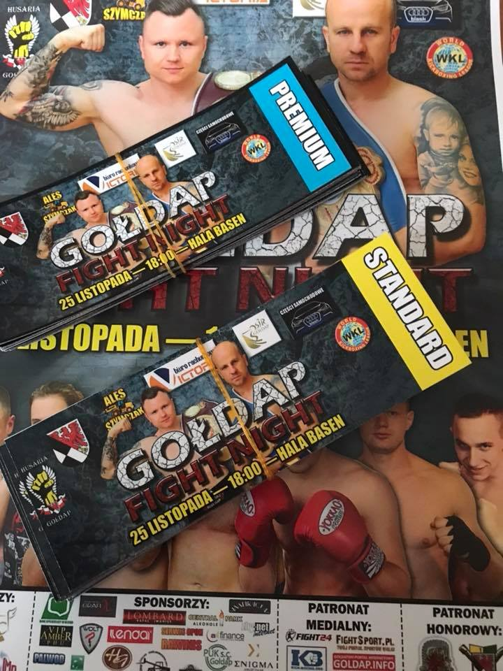 Gołdap Fight Night 25-11-2017 Bilety