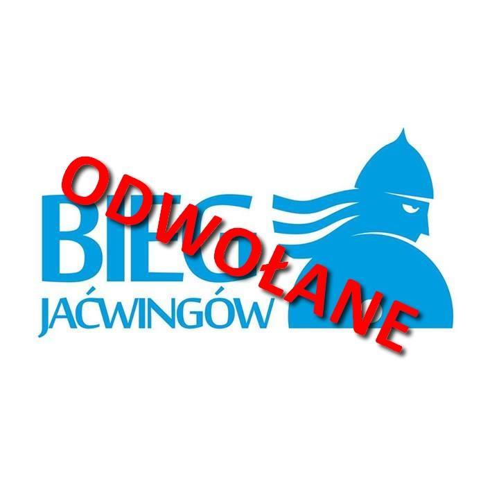 Bieg Jaćwingów w nadchodzący weekend został odwołany,inny termin zostanie podany niebawem.