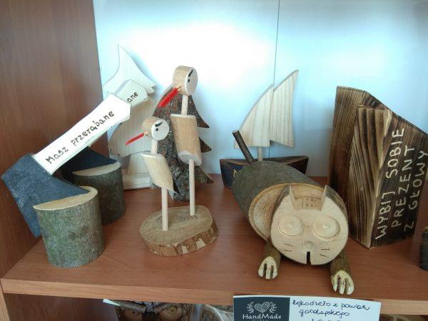 Figurka drewniana handmade Mini