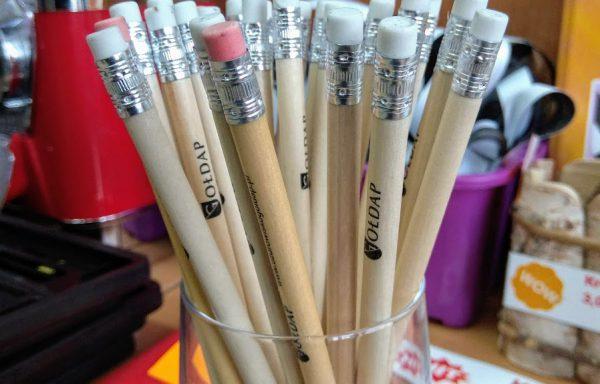 Ołówek z logo Gołdapi