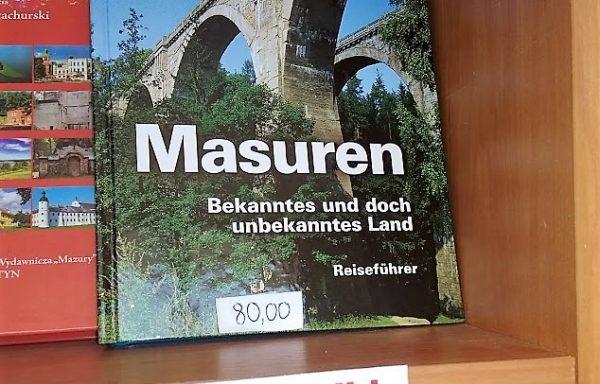Masuren – książka, przewodnik
