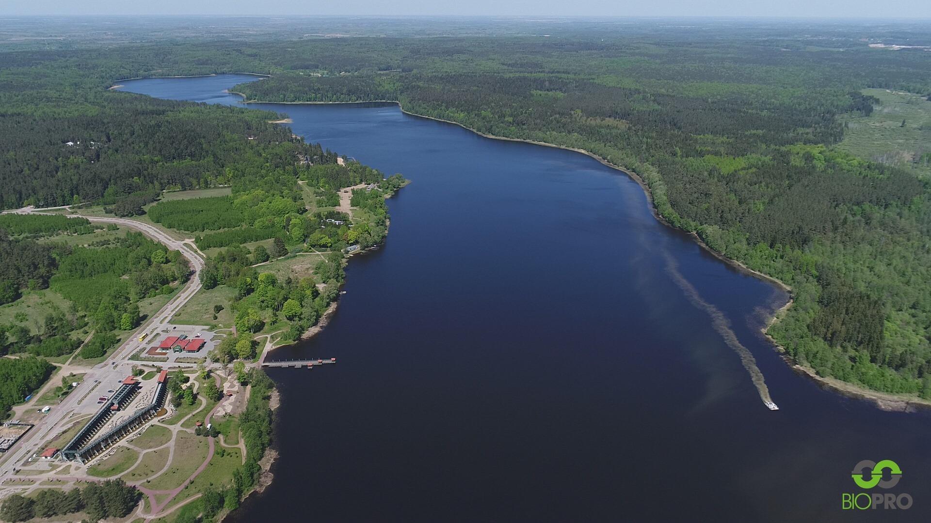 Jezioro Gołdap będzie czyste - drugi etap rekultywacji zakończony