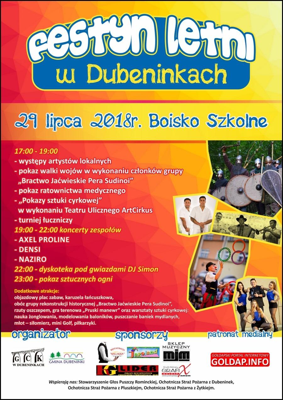 Festyn Letni w Dubeninkach