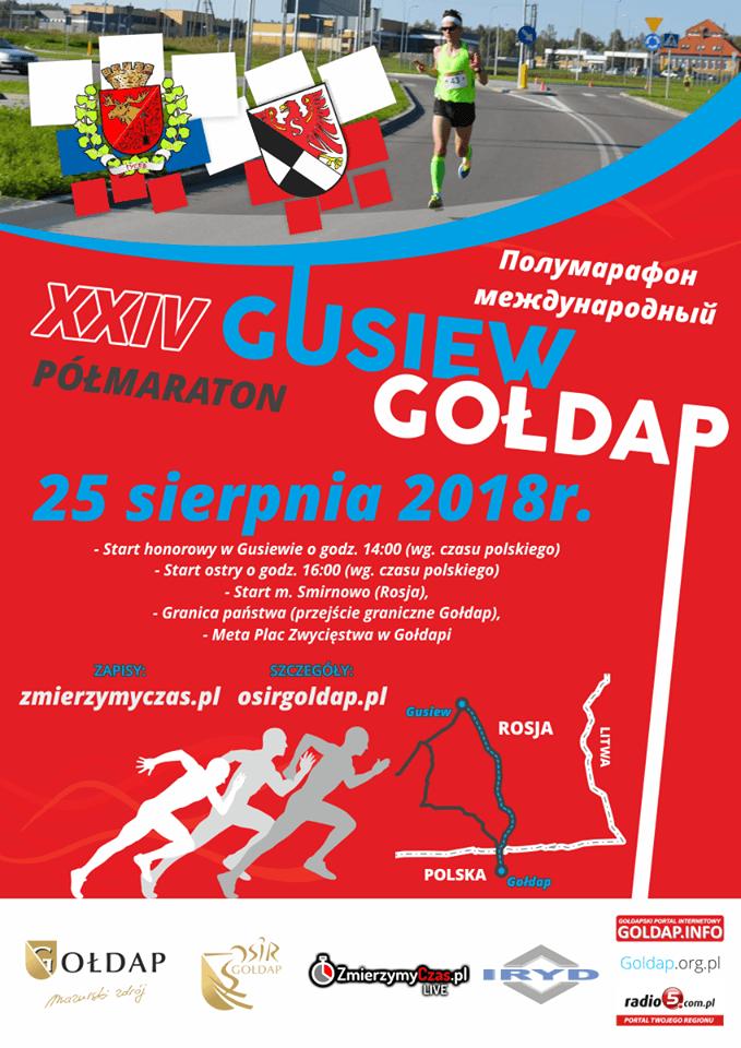 XXIV Półmaraton Gusiew Gołdap