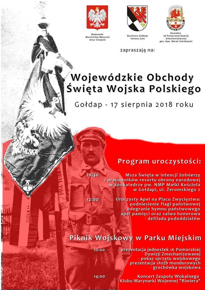 Wojewódzkie Obchody Święta Wojska Polskiego 17 sierpnia