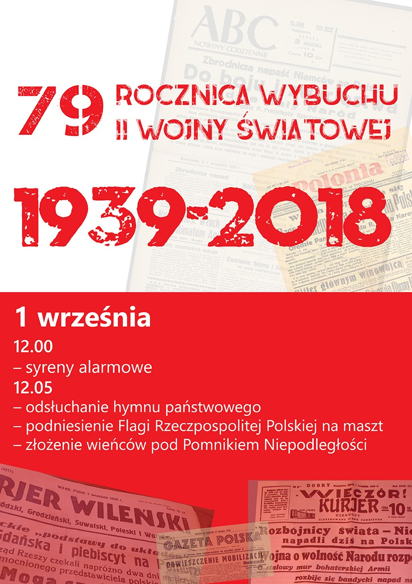 79 rocznica wybuchu II wojny światowej.
