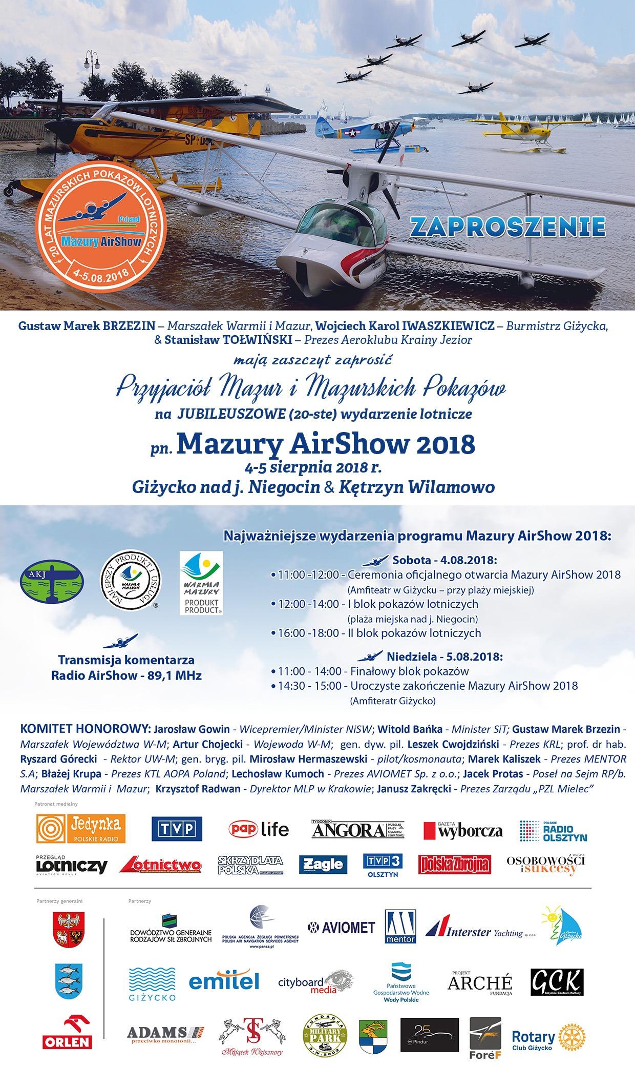 Mazury AirShow 2018