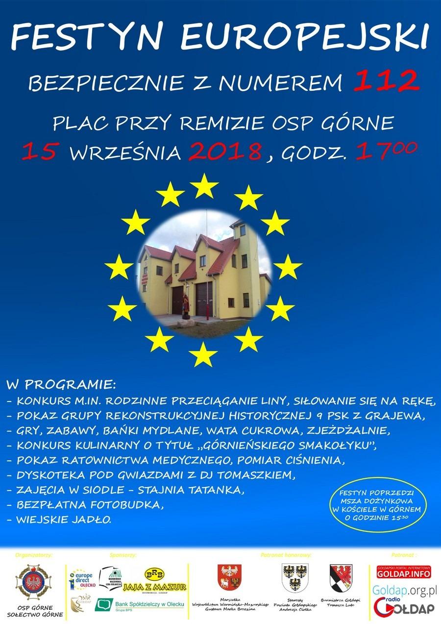 15-09-2018 Festyn Europejski w Górnem