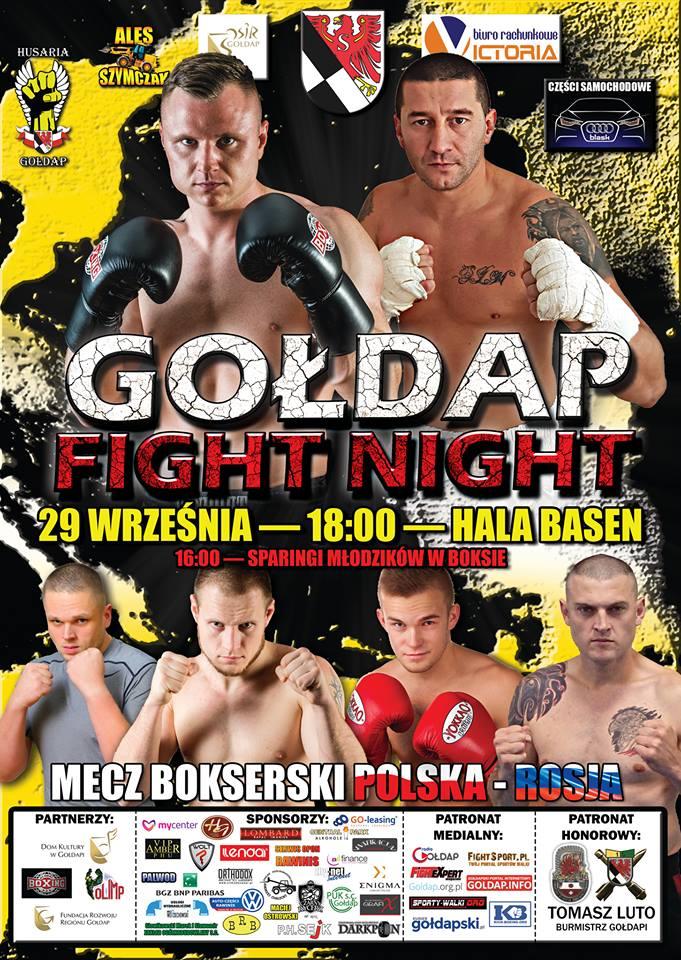 29 września V Gala Gołdap Fight Night
