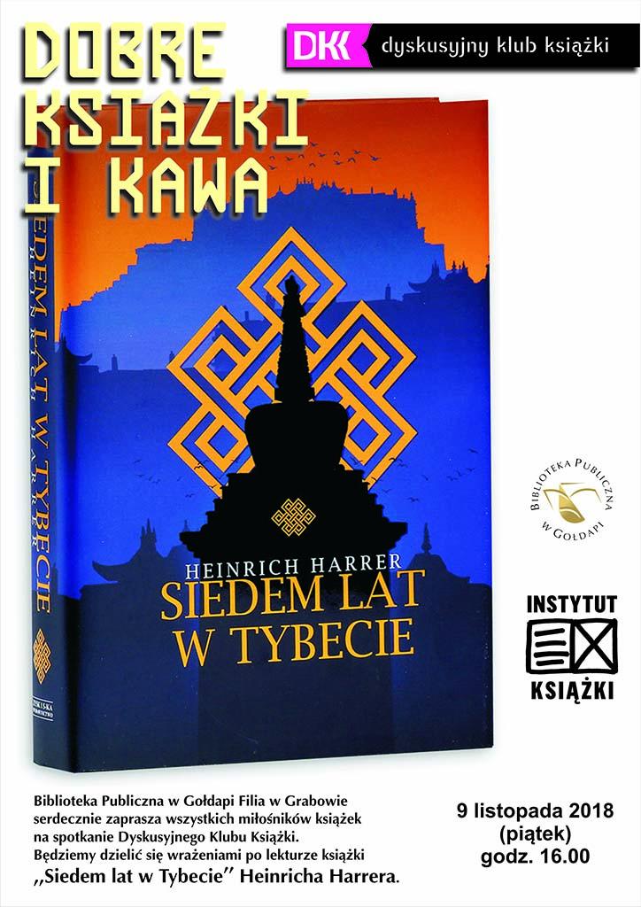 """DKK - """"Siedem lat w Tybecie"""" 9.11.2018"""
