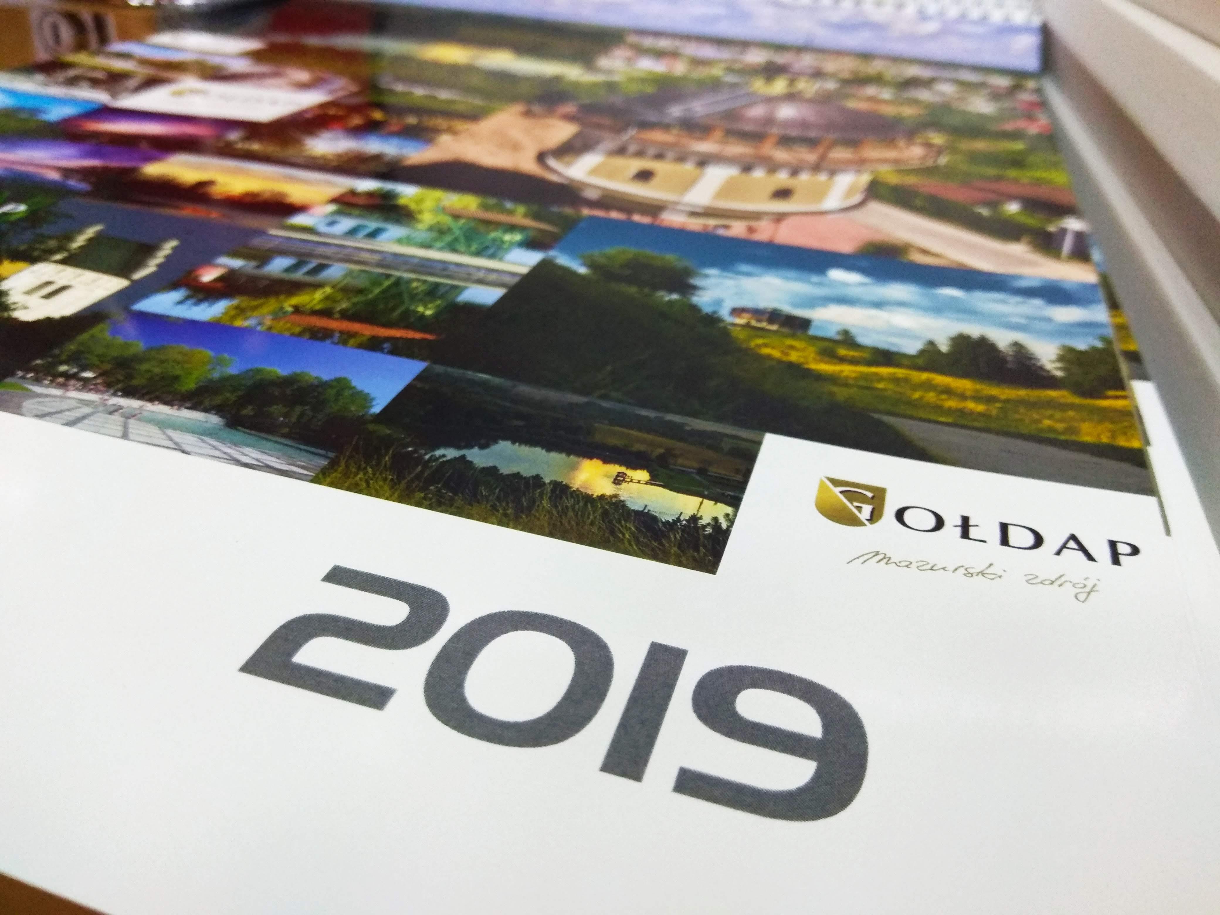 Gołdapskie ścienne kalendarze 2019 już dostępne
