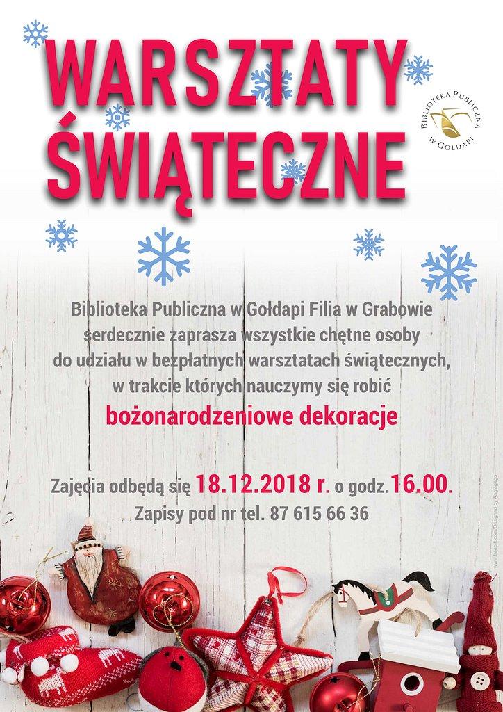 Warsztaty świąteczne 18-12-201