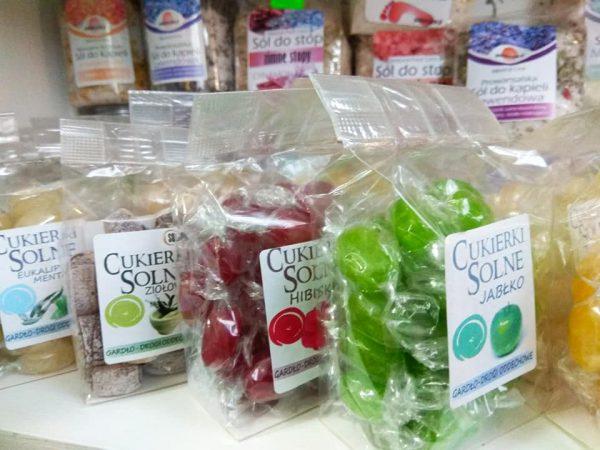 Cukierki solne – różne smaki