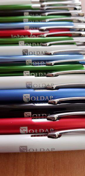 Długopis grawerowany z logo