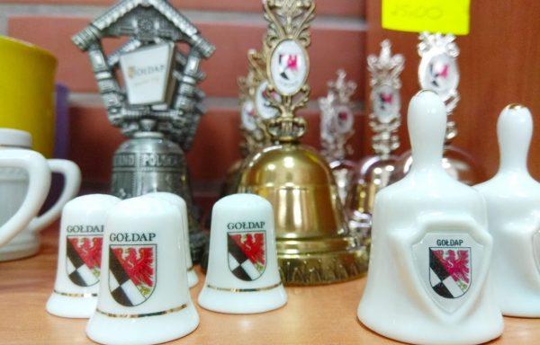 Naparstek lub dzwonek ceramiczny