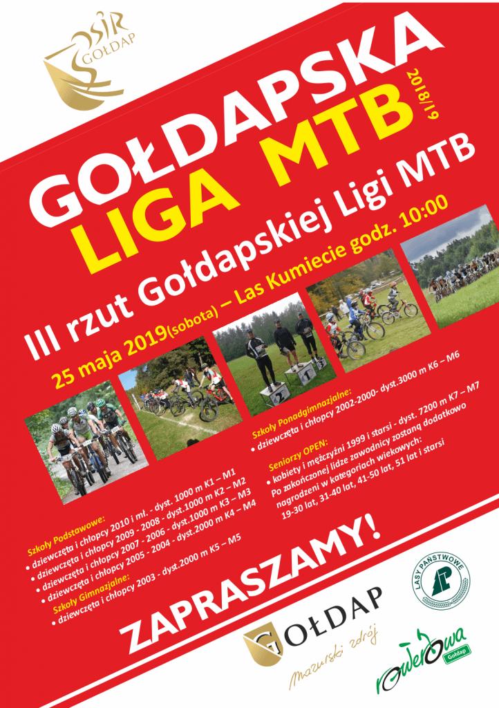III rzut Gołdapskiej Ligi MTB